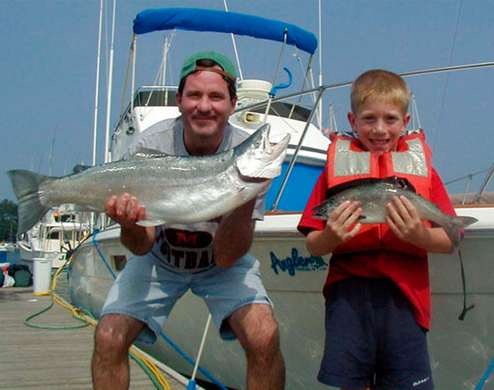 angler charters fishing chicago